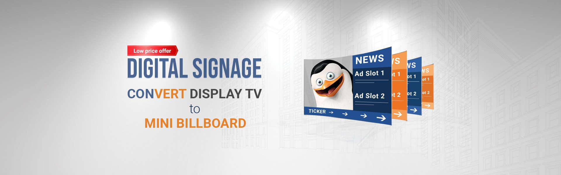 Digital Signage Solution, Digital Signage