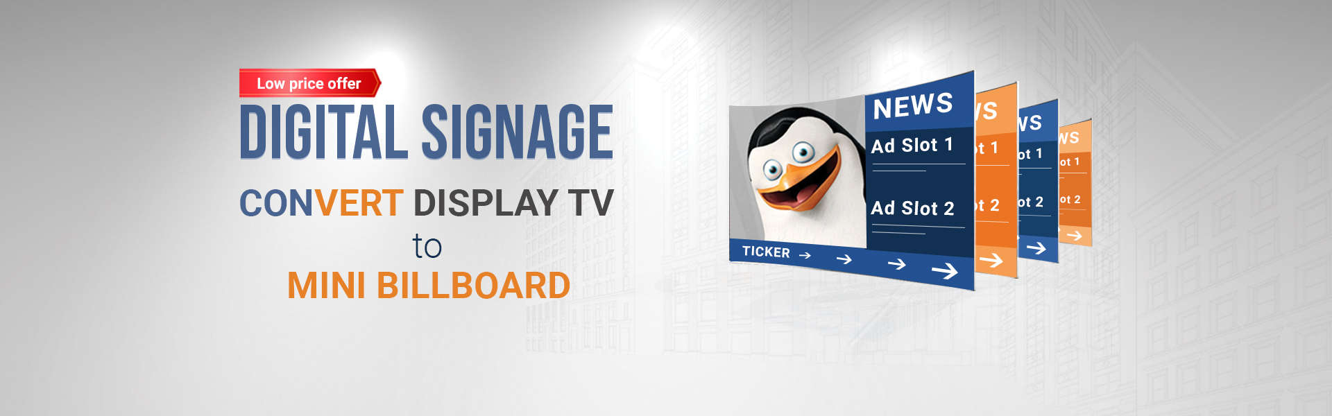Digital Signage Solution, Digital Signage