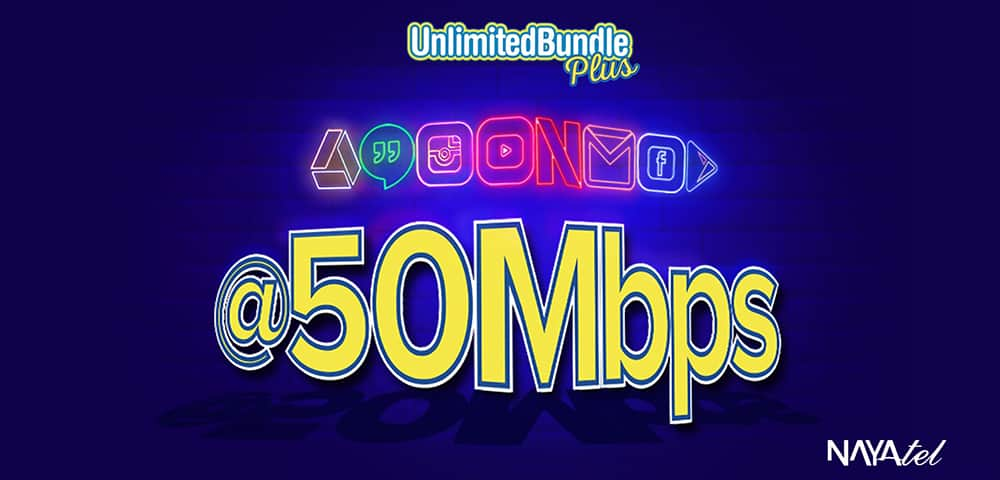 Nayatel Boosts Unlimited Bundle Plus to Extreme Speed